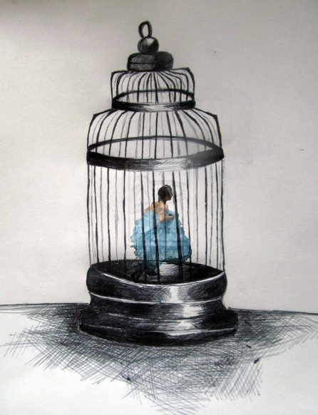 I feel like a caged bird by love muffin