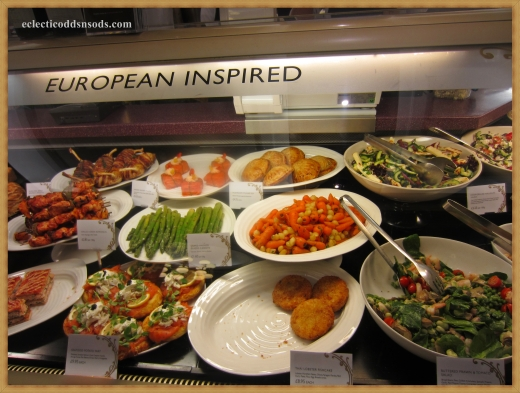 European inspired food