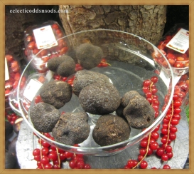 truffles sourced by houndogs, v expensive