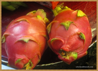 dragon fruit from Thailand, never tried one