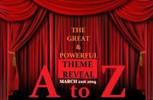 A-Z Challenge Theme Reveal