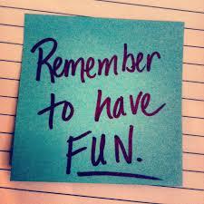 Time for fun!