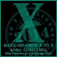 A-Z blogging challenge Letter X