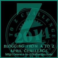 A-Z blogging challenge Letter Z