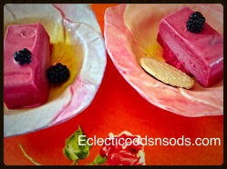 Blackberry icecream