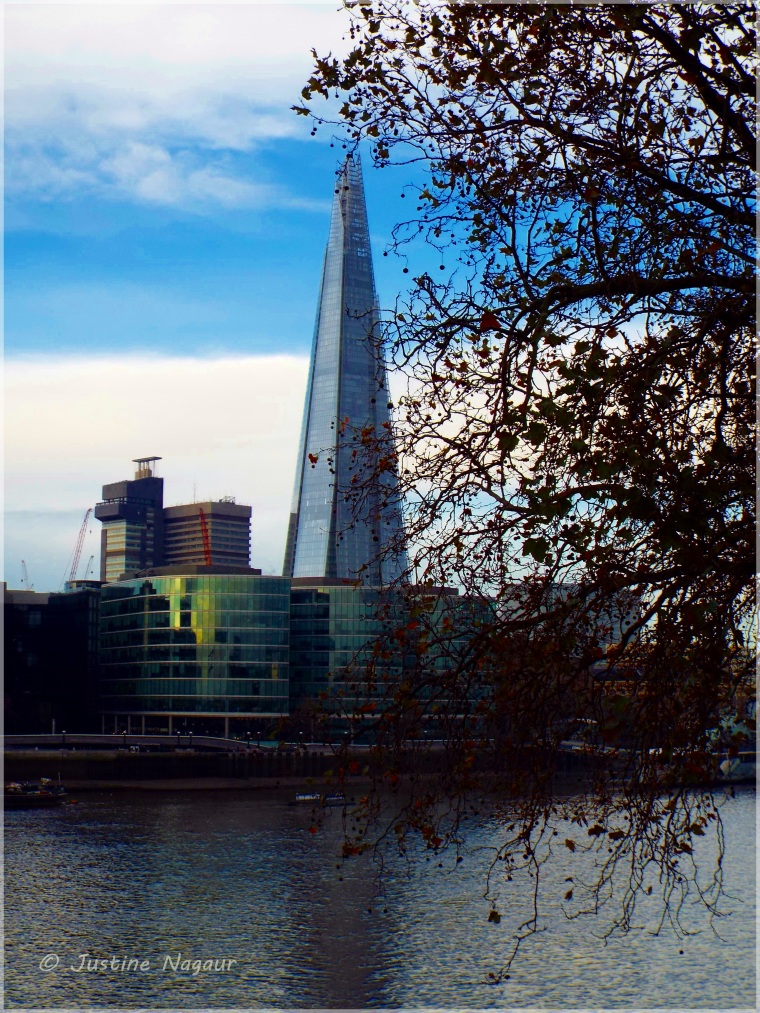 The Shard from across the river