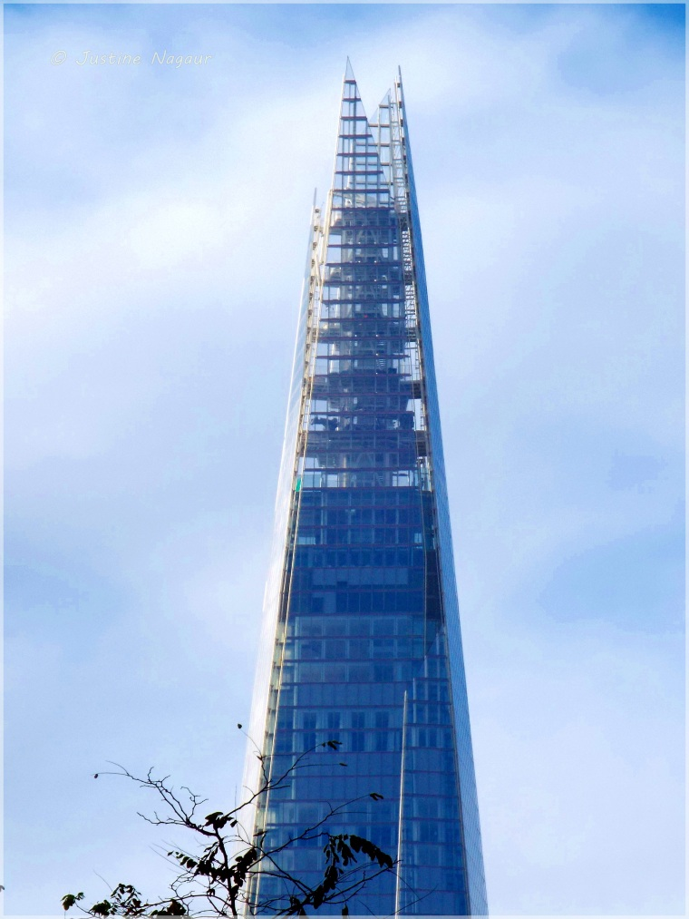 The top of The Shard, London