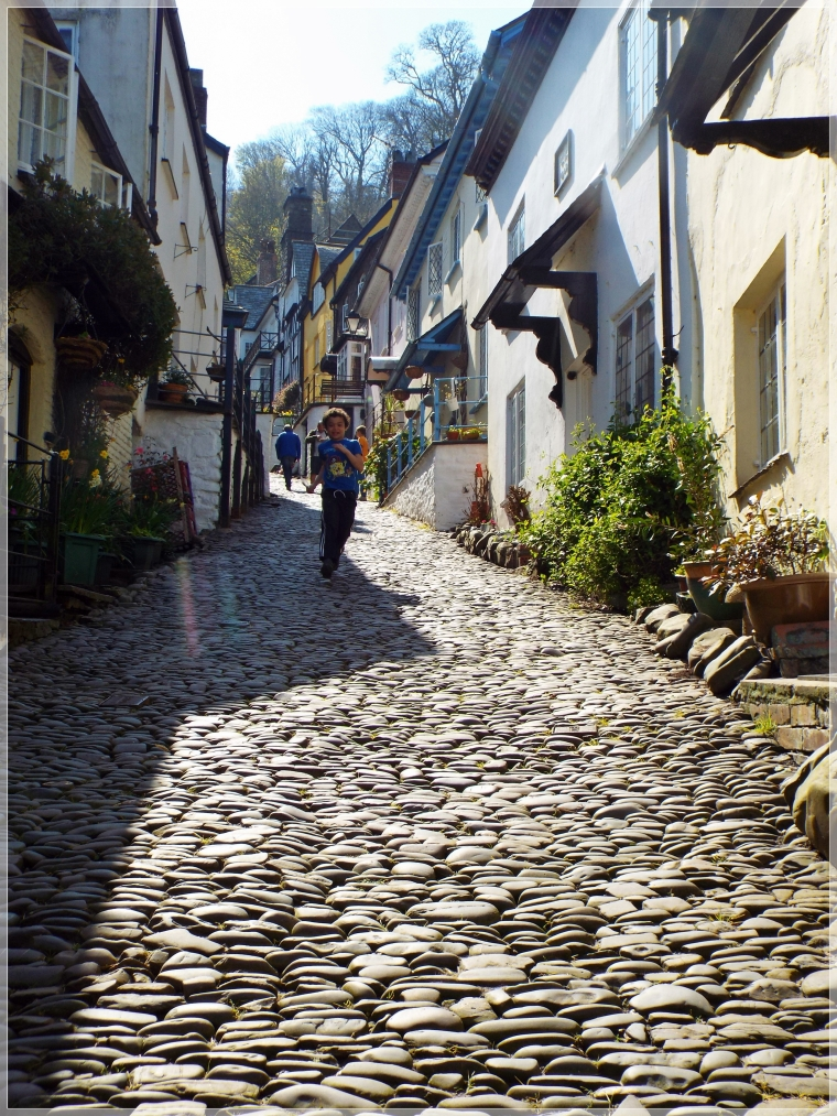 Clovelly Village the lovely long steep cobblestone walk