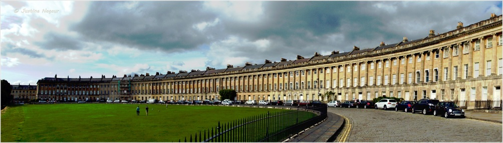 Royal Crescent Bath Summer 2014