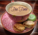 Tea Time button