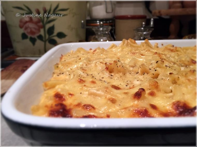 Macaroni cheese luxury style
