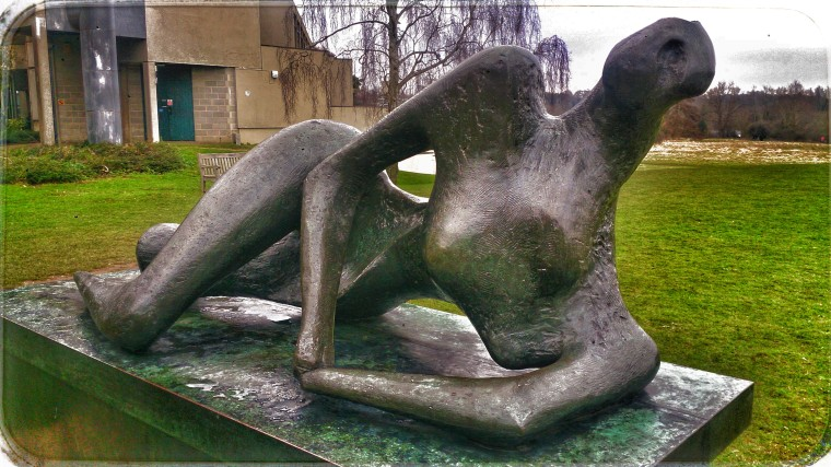 The Reclining Woman - Henry Moore