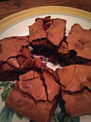 Wheat & Gluten Free Chocolate Fudge Brownies Low FODMAP