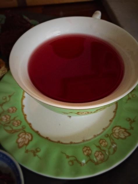Tea Time #7 Hibiscus Tea