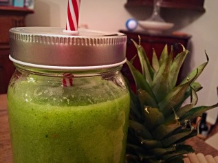 Pineapple, Cucumber, Mint Juice