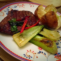 Rump steak treat - low FODMAP