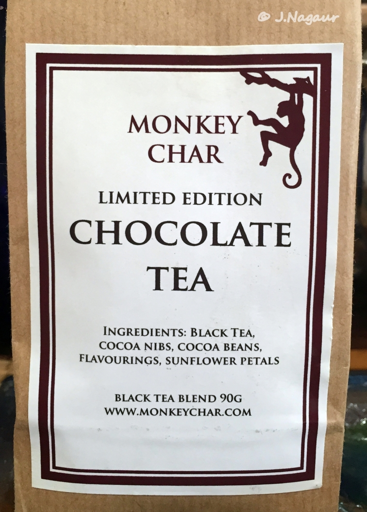Monkey Char chocolate tea, Tea Time #12