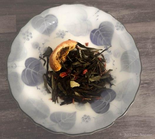 Sencha Orangge & Spice Tea