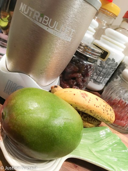 Chocolate Coconut Mango Superfood Smoothie