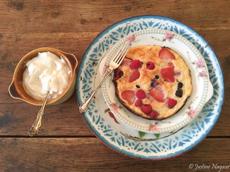 Berry Omelette